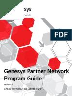 Genesys Partner Network Program Guide