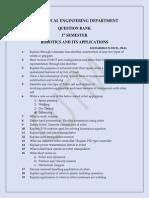 Robotics and Its Applications -Sudarshan.b.