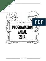 Programación Anual Inicial 5 Años 2014