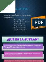 SUTRAN -FUNCIONES Y LEY