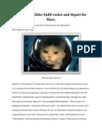 astronaut cat news report james ang