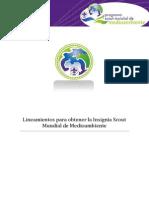 Documento Final de La Insignia Scout Mundial de Medioambiente