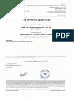 Cert BV HIQuad Type Approval 14291 E E