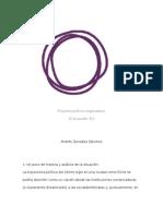 Proyecto político-organizativo Podem Elx