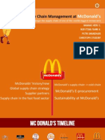 McDonald's Integrated Supply Chain