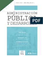 Revista Inap Admon Publica y Desarrollo