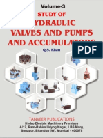 Vol.3. Study of Hyd. Valves & Pumps, Accumulator
