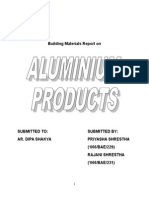 Aluminum products report.doc