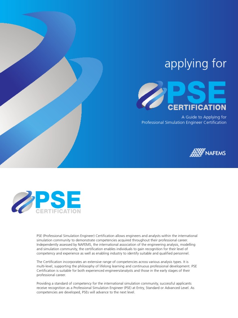 Applying for pse oct 14 pse professional certification applying for pse oct 14 pse professional certification competence human resources 1betcityfo Image collections