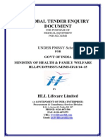 Global Tender HL Machine