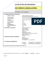 Ficha Seguridad Hidroxido Sódico