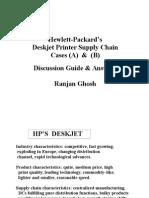 Hewlett-Packard Deskjet Printer Case