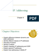 Chapter 9 IP Addressing