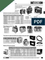 Transformadores Catalogo