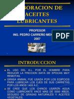 Elaboracion de Aceites Lubricantes.