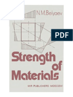 N. M. Belyaev- Strength of Materials- Mir
