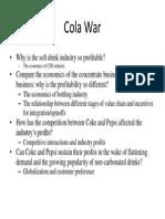 Cola War case study