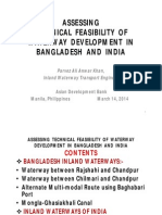 Assessing Technical Feasibility of Waterway Development in Bangladesh and India