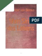 [Bernus Alexander Von] Vom Sinn Des Lebens(Bookos.org)