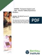 HAMMER V8i SS3 SI QandA FormDocument Mar-2012