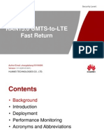 Ran15.0 Umts-To-lte Fast Return