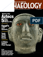 Archaeology July August 2014