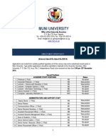 Job Opportunities at Muni University