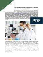 Study Medicine at Minimum Cost