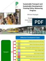 Sustainable Transport and Sustainable Development