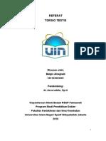 Referat Torsio Testis - Balgis