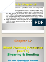 EIN 3390 Chap 17 Sheet-Forming Processes Part 1 Spring 2012