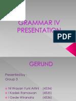Grammar IV Presentation