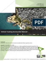 Panda Plast - Vehicle Tracking Service User Manual