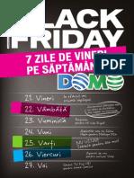 Catalogul Domo pentru Black Friday 2014