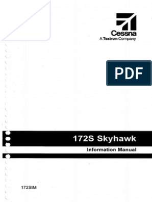 172S Skyhawk Information Manual Searchable   Stall (Fluid