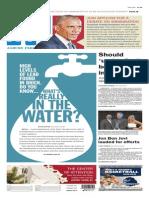 Asbury Park Press front page Thursday, Nov. 20 2014