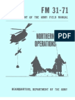 Army - fm31 71 - Northern Operations