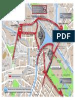 Visite du pape, mesures de circulation 3