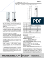 Flow Meter Specification