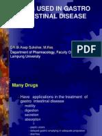 1-Drug Affecting the Gastrointestinal System