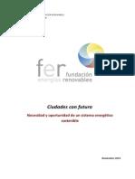 Ciudades Con Futuro Documentos Fundación Renovables 18-11-14