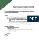 Resume Pengolahan Data Statistik