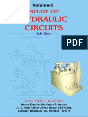 Volume 5  Study of Hydraulic Circuits   Valve   Pump