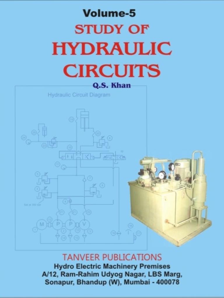 Volume.5. Study of Hydraulic Circuits | Valve | Pump