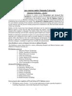 OU-Healthcare Courses Brochure