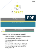 Module - DSpace Configuration (Slides)