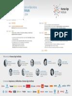 Agenda presentación de Human Age Institute Barcelona (25/11/14)