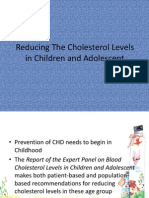 Ppt Chapter 8 Reducing the Cholesterol Levels in Children and Adolescent