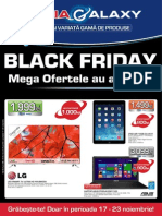 Catalog Media Galaxy pentru Black Friday 2014