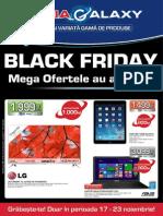 Catalog Media Galaxy pentru Black Friday 2014